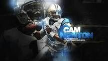 The First Round Pick of The 2011 Draft The Carolina Panthers Select Cam Newton #1 Out of Auburn Tigers University War Eagle AKA Supercam, Batcam, Killacam, Ace Boogie Swag, The Dinosaur, Captain Cam