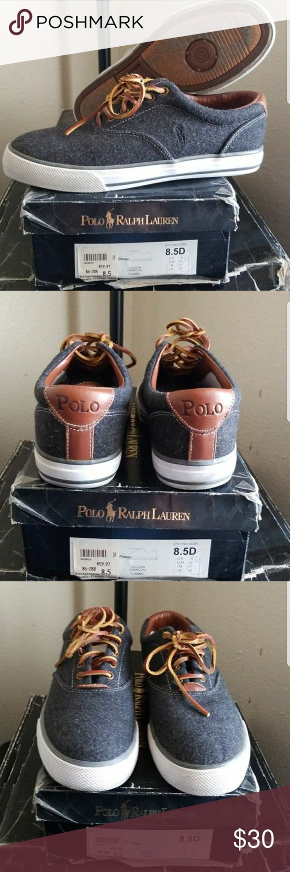 Polo Ralph Lauren shoes Men's size 8.5 wore them once and have been stores ever since. Great condition  will fit women's 10 Polo by Ralph Lauren Shoes