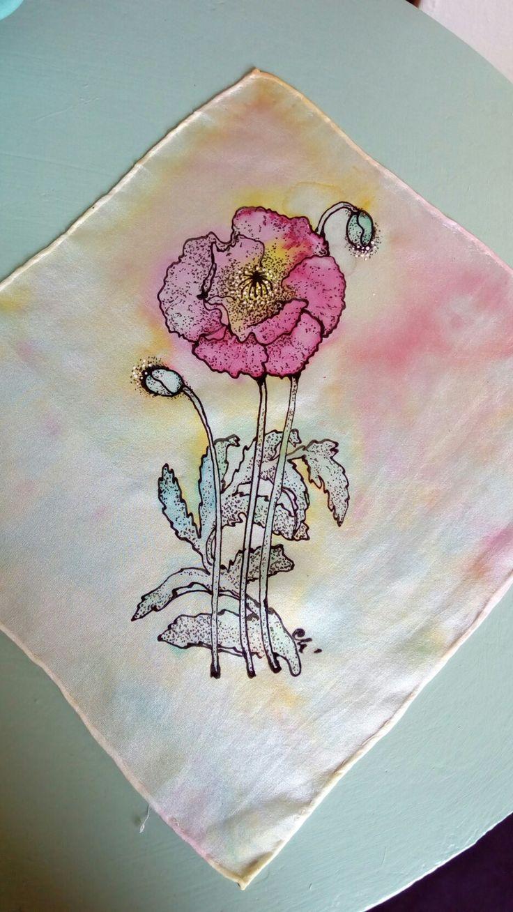 My first silk creation