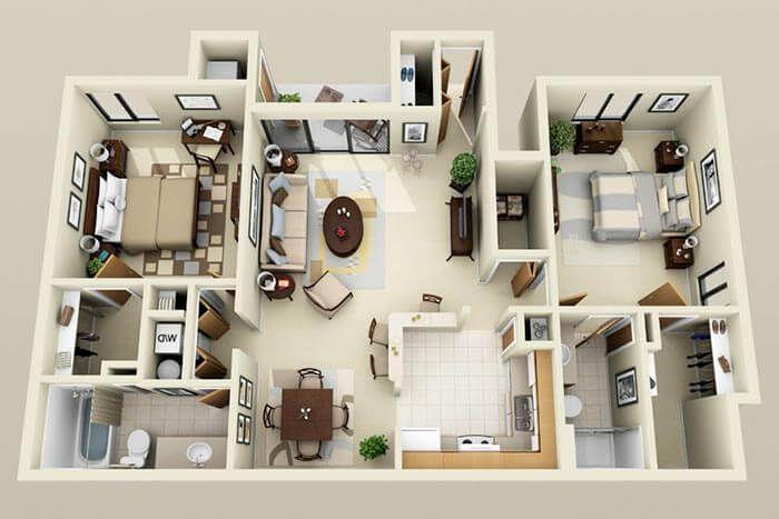 2+1 dubleks ev örnekleri