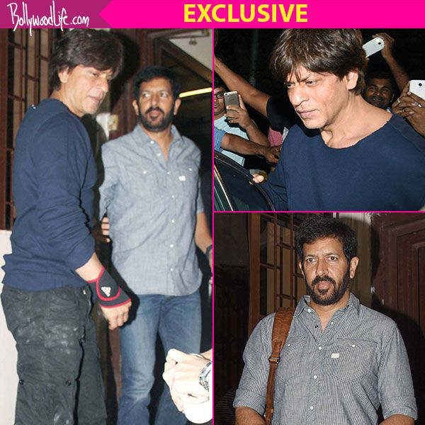 Exclusive! We know why Shah Rukh Khan met Kabir Khan last night and it's NOT for a film #FansnStars