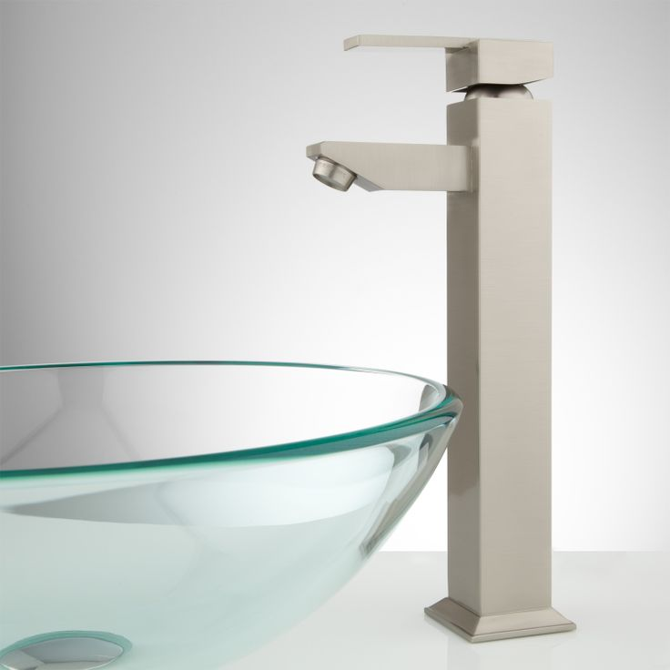 phoenix single hole vessel faucet with pop up drain