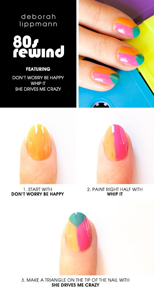 80s Rewind HOW TO featuring featuring Don't Worry Be Happy, Whip It & She Drives Me Crazy #Sephora. I suppose any cool colors will do.