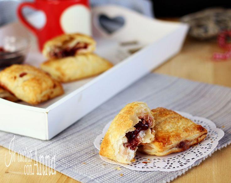 Sfogliatine+cheesecake