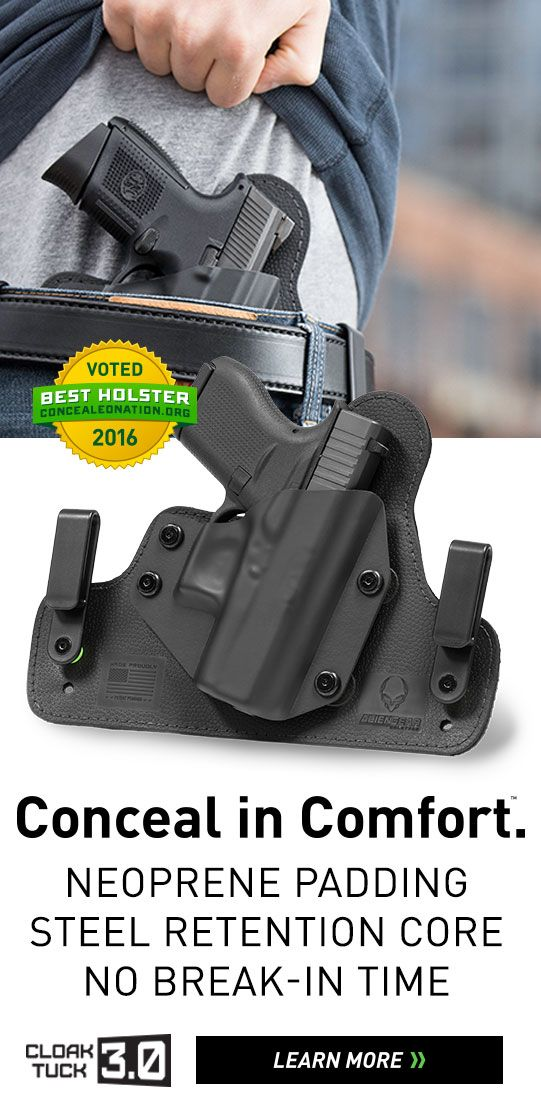 Alien Gear Holsters: The most comfortable and concealable holsters on the planet. Any planet.