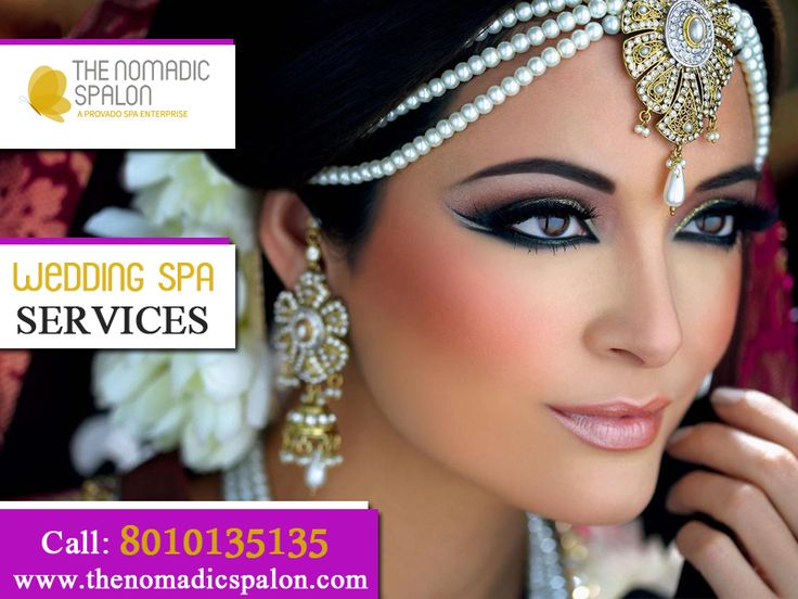 #NomadicSpalon facilitates the best wedding Spa Services in Delhi-NCR, India. It provides relaxation to the brides and the grooms and make their wedding day special at chargeable rates. www.thenomadicspalon.com #SpaService #WeddingSpaService