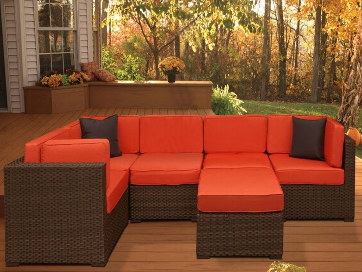 Exceptional Outdoor Furnishing | ... Garden Furniture Resin Wicker Outdoor Furniture  Bellagio Sectional Set Part 22