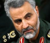 Iran's Mysterious Elite General in Rare Iraq Picture Monday, 06 Oct 2014 11:20 AM Iranian television published a rare picture Monday of its elite Quds Force chief in Iraq that was widely circulated online, puncturing the mystique of one of the region's most powerful men.  The image of Major General Qassem Suleimani purportedly showing him on an Iraqi battlefield was published on the website of IRINN state television, and repeatedly shared on Twitter.