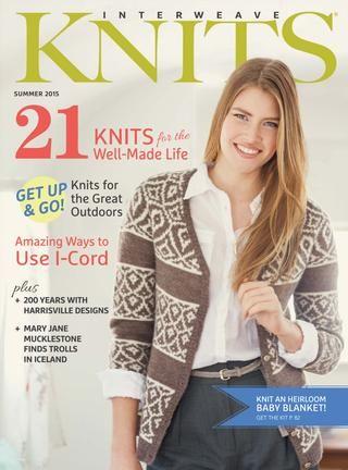 Interweave knits summer 2015