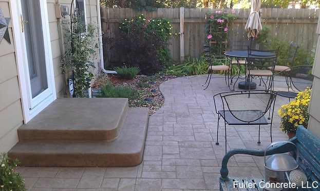 Concrete Patio Cost On Pinterest Stamped Concrete Stamped Concrete