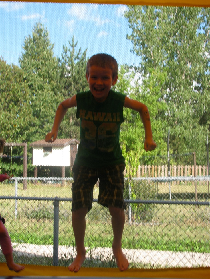 Real kids really enjoying our Jumpy Things!