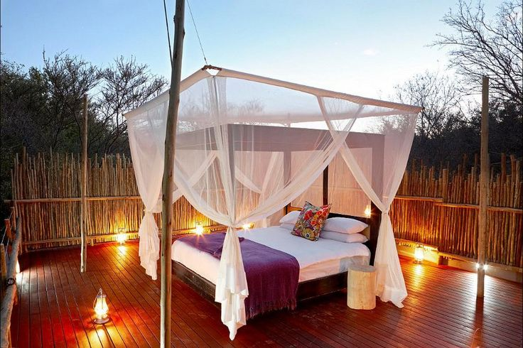 Sleep beneath the bushveld sky at Jaci's Safari Lodge