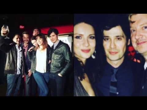 Outlander/ Caitriona Balfe' boyfriend or friend - YouTube