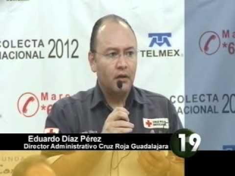 En Guadalajara, cada persona dona a la Cruz Roja un promedio de 37 centavos. Es por eso que a partir de este año, todos los usuarios de la empresa Telmex pordrán hacer su donativo con cargo a su recibo telefónico.     Informe de Omar García