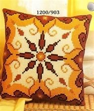 "Vervaco SUN Chunky Cross Stitch Cushion Front Kit 16"" x 16"""