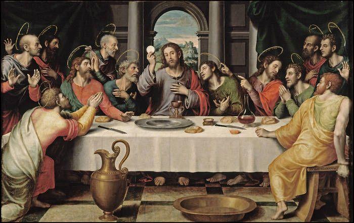Juan de Juanes The Last Supper