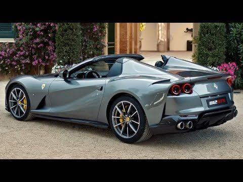 2020 Ferrari 812 Gts Convertible Supercar Youtube Ferrari Convertible Super Cars Cool Cars