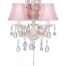 girls ceiling fan lights chandelier children teen kids room baby nursery decor - Coole Deckenventilatoren Fr Kinder