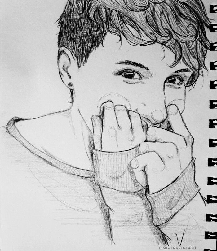 THIS IS MY FAVOURITE PHANART / DAN ART EVERRRRR WHOVER CAN DRAW LIKE THIS HAS BEEN BLESSED BY THE BEAR GODS