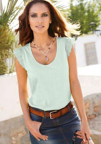 Tričko se zajímavými rukávy #ModinoCZ #forfreetime #comfortable #stylish #fashion #trendy #clothing #obleceni #moda #volnycas #stylove
