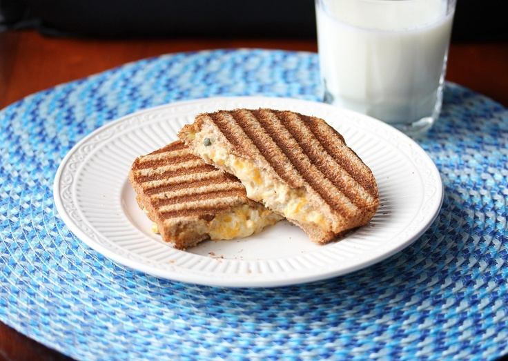 Tuna and Cheddar Panini Melt | Your Favorite Food Photos (Group Board ...