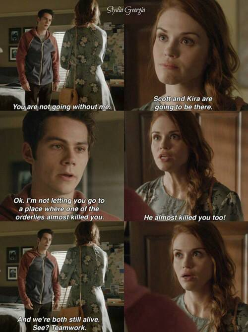 Teen Wolf season 5 - Stiles and Lydia