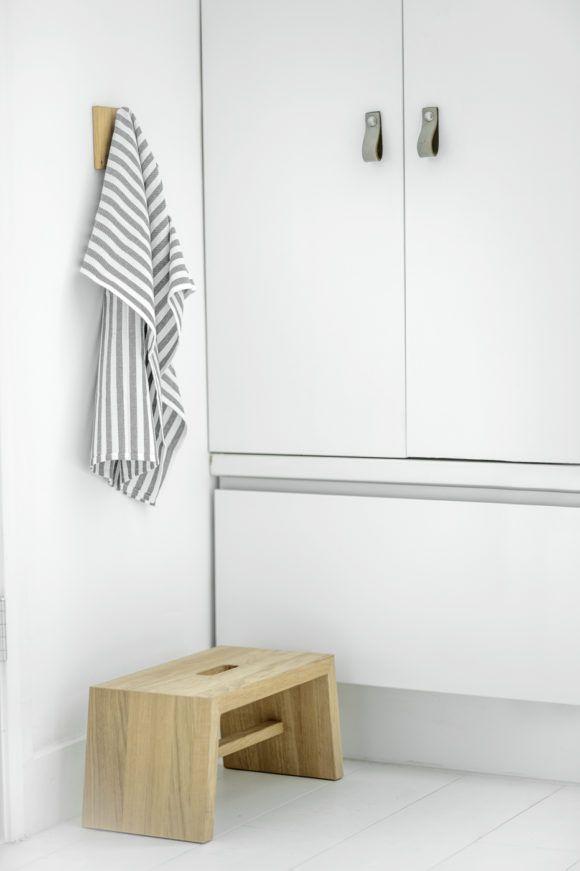 Design Studio Nu - leather handles in size 4 - grey