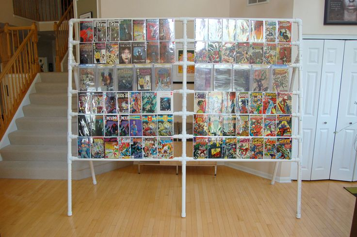 17 best images about shelves on pinterest literature shelves and comic books - Comic book display shelves ...