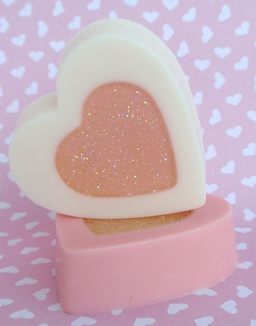 I Heart You Valentines Day Soap
