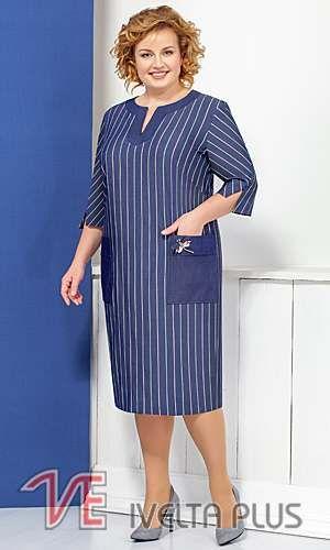 67fcc1e9f46c Коллекция женской одежды больших размеров белорусской компании Ivelta Plus  лето 2018