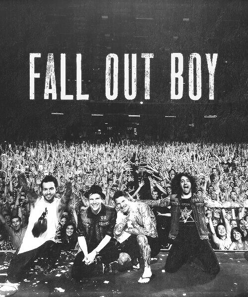 Fall out boy are another inspiration of mine because they write so much amazing music that means so much and they are such genuinely nice people that care for their fans and I think that's really admirable.