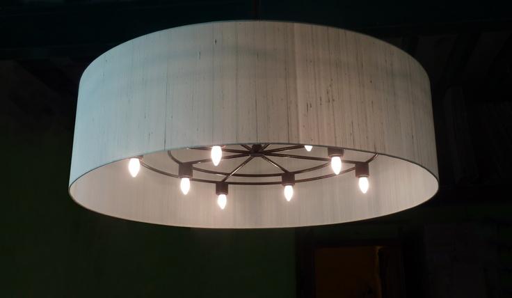Silk Chandelier 140x40cm Lamp Shade