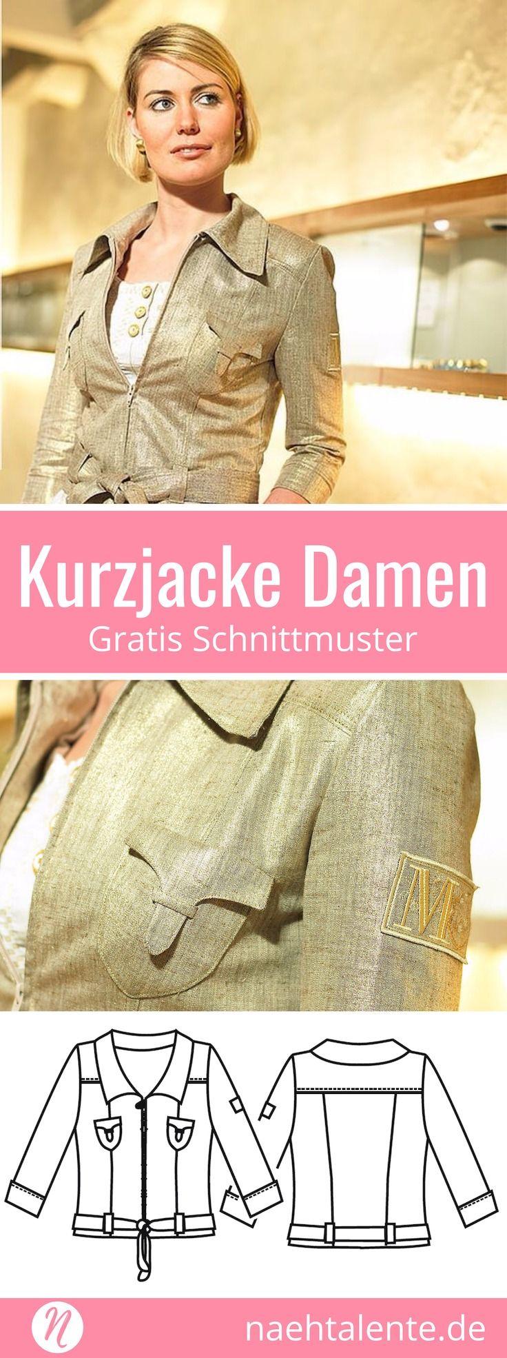 75 best Schnittmuster | Mäntel & Jacken images on Pinterest | Mäntel ...