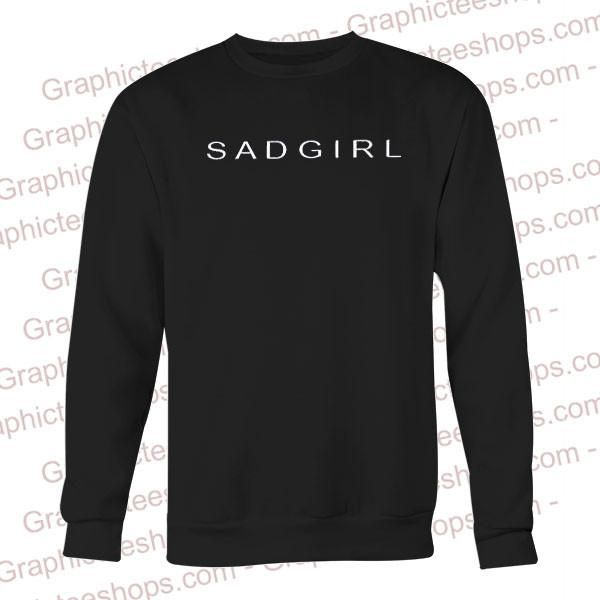 Sad Girl Sweatshirt