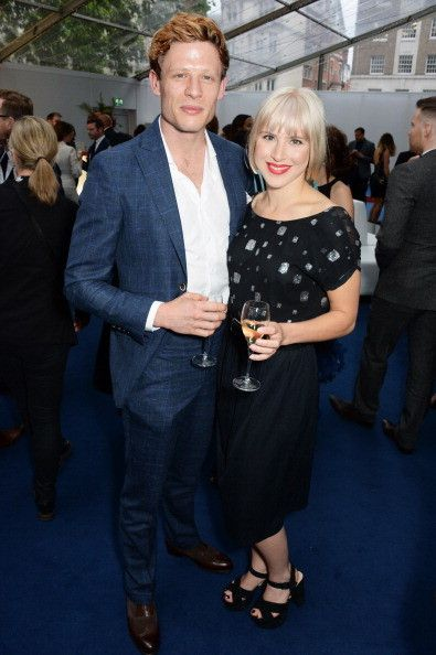 Just James Norton, James Norton with his girlfriend Eleanor Wyld (who...