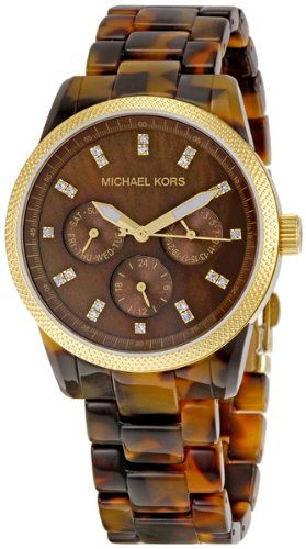 Michael Kors Women's MK5038 Ritz Tortoise Watch -      $  195.00  2 Year WarrantyDurable mineral crystal protects watch from scratchesStainless Steel Case5 ATM, Water-resistant for up to 50 meters  Tortoise is a neutral that works with every style. T