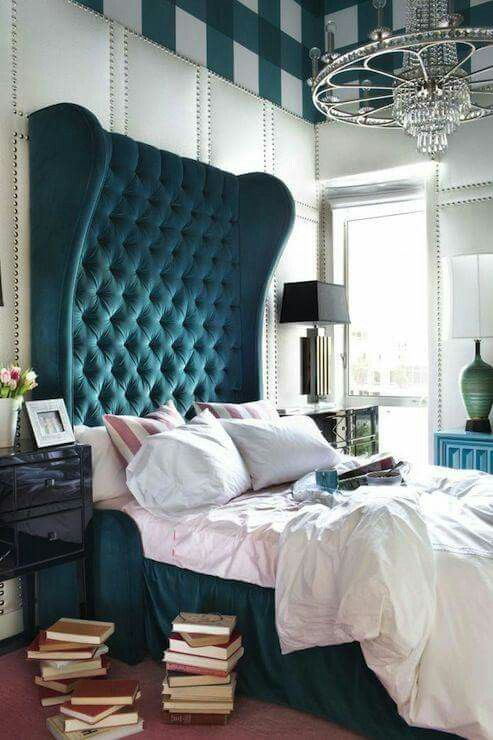 Passionate ,strong n stylish bedroom with heavy furnishing