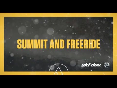 2017 Ski-Doo : The New Summit 850 E-TEC - YouTube
