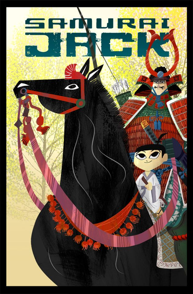 Samurai Jack #12 cover by Genndy Tartakovsky