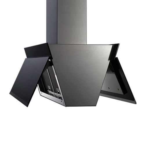 Island Range Hood 36  Gullwing Black  sc 1 st  Pinterest & 120 best Black range Hoods - Island images on Pinterest | Cooker ...