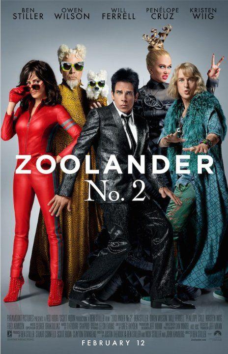 Ben Stiller, Will Ferrell, Penélope Cruz, Owen Wilson and Kristen Wiig in Zoolander 2 (2016)