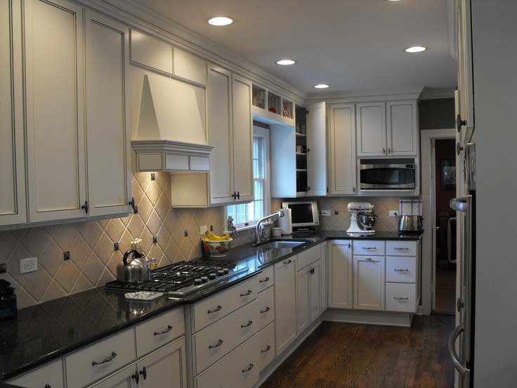 Best Kitchen Featuring White Painted Cabinets Contrasting With 640 x 480