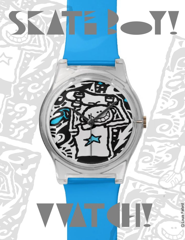 Graphic Watch/Montre Graphique...TOM!