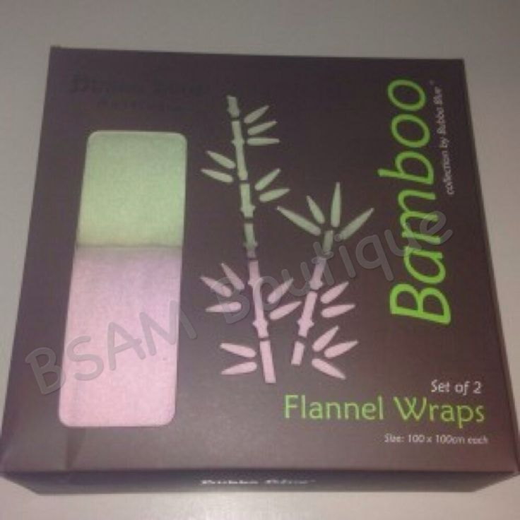 Bubba Blue – Bamboo Flannel Wraps. Pink and Green |