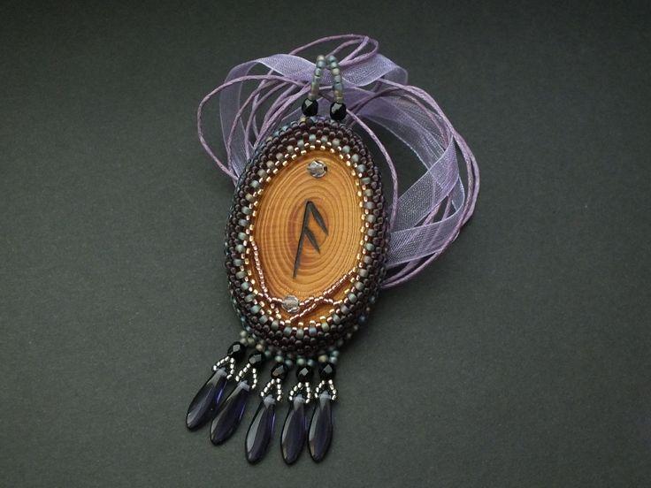 Ansuz - pendant of Runatál collection by Monica Otmili