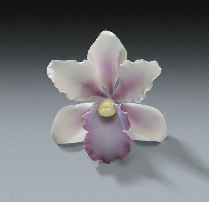 gumpaste flowers tutorials | TROPICAL ORCHID GUM PASTE FLOWERS 3 1/2 inch