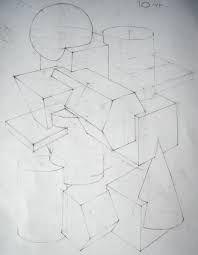 Image result for композиция из геометрических тел мархи