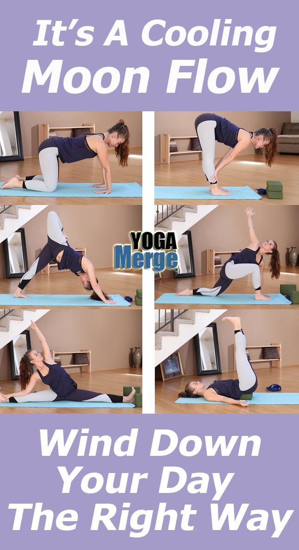 Evening Moon Flow Online Yoga Videos Yoga Videos Yoga Stream