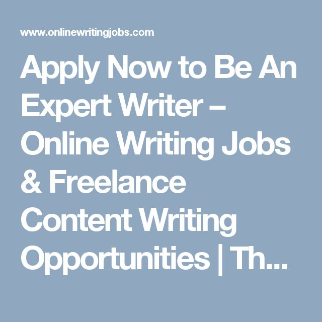 writing opportunities The 15 best freelance websites to find jobs next article --shares add to queue anna johansson - guest writer freelance writer may 12, 2015 5 min read opinions.