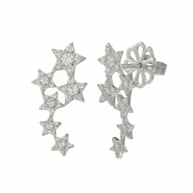 Zoe and Morgan Six Diamond Sisters Earrings $3413 NZD